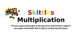 Skittles Multiplication