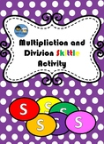Skittles Multiplication and Division TEK 2.6 A, B