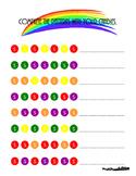 Skittles Pattern Practice