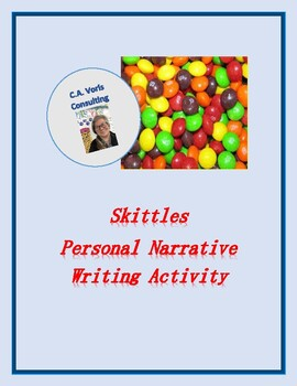 Skittles Personal Narrative Writing Activity