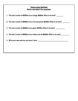 Skittles Project (Middle School Mathematics)