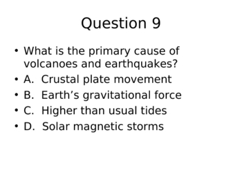 Skittles Reveiew Game - Rocks, Plate Tectonics, Water