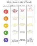 Skittles Socio - Emotional Activity