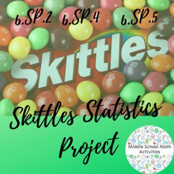Skittles Statistics Project (6.SP.2, 6.SP.4, 6.SP.5)
