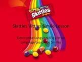 Skittles Vittles Simile lesson