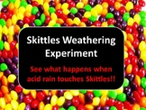 Skittles Experiment (Chemical Weathering)