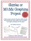 Skittles or M&M Graphing Project **updated**