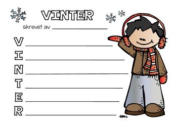 Skriv om vinteren! (BM)
