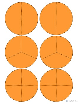 """Skull"" Fraction Circles for Autism"