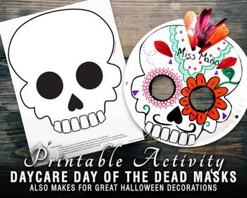 Skull Mask for Halloween & Day of The Dead