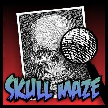Skull Pictorial Maze