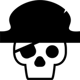 Skull and Pirate Stickers/Icons