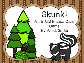 Skunk! An Initial Blends Card Game