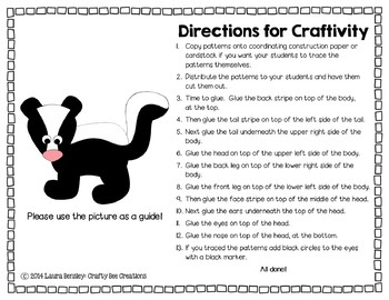 Skunk Cut and Paste
