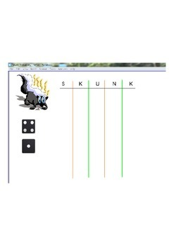 Skunk Probability Game
