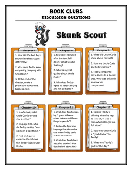 Skunk Scout Discussion Questions