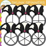 Skunk Spinners Clip Art
