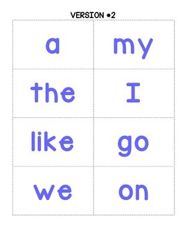 Skunked!  A Sight Word Game