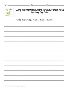 Sky Color by Peter H. Reynolds Lesson Plan, Google Slides and Docs Activities