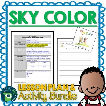 Sky Color by Peter H. Reynolds Lesson Plan and Activities