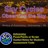 Sky Cycles & First Observations of the Sky PowerPoint Note