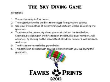 Sky Diving Game