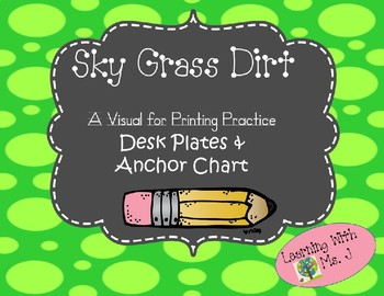 Sky, Grass, & Dirt Printing Visual