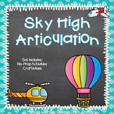 Sky High Articulation- Artic Activities for Speech Therapy