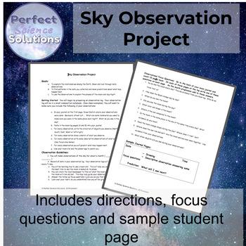 Sky Observation Project