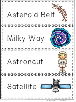 Sky Science and Space Interactive Notebook