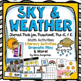 Preschool Sky and Weather Theme Activity Pack