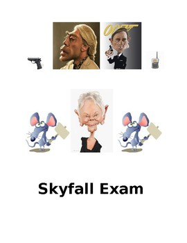 James Bond Skyfall Exam Paper 1
