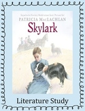 Skylark Literature Study: Printables, Vocabulary, Questions, Activities