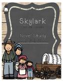 Skylark- Novel Study