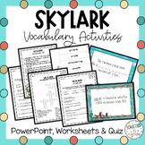 Skylark Vocabulary Powerpoint
