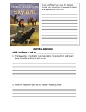 Skylark by Patricia MacLachlan Comprehension Questions