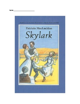 Skylark reading guide question packet