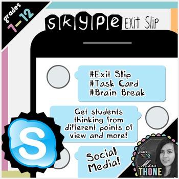 Skype Exit Slip