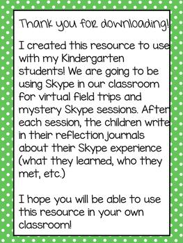 Skype Online Travel Journal