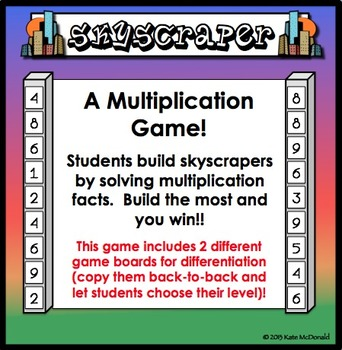 Skyscraper Multiplication Game