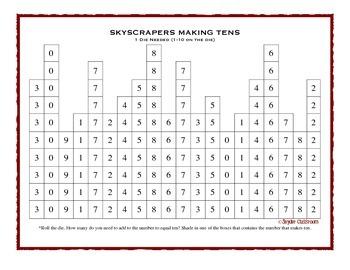 Making Tens Math Game