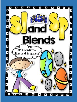 Sl and Sp Blend Word Work!