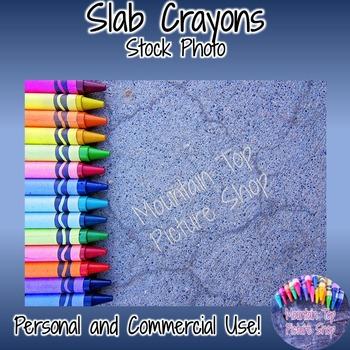 Slab Crayons (Stock Photo)