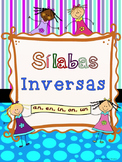 Silabas Inversas --an, en, in, on, un  Sílabas Inversas