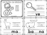 "Sílabas - Mini librito sílabas con ll / Spanish Syllables mini book digraph ""Ll"""