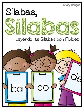 Sílabas, Sílabas--Spanish Syllable Reading Fluency