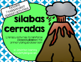 Sílabas cerradas - Spanish Closed Syllables Activities