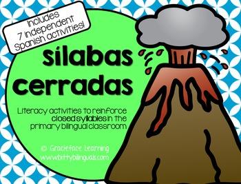 Sílabas cerradas - Spanish Closed Syllables Activities