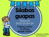 Sílabas guapas - Spanish Phonics Activities for ga, gue, g