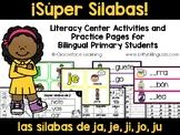 Sílabas jubilosas – Spanish phonics activities for ja, je, ji, jo, ju
